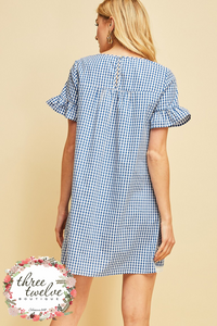 Al Fresco Gingham Dress