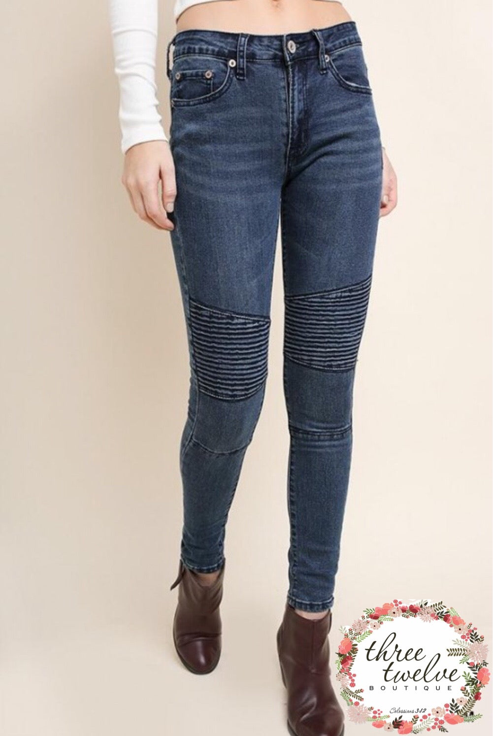 On the Go Moto Jeans