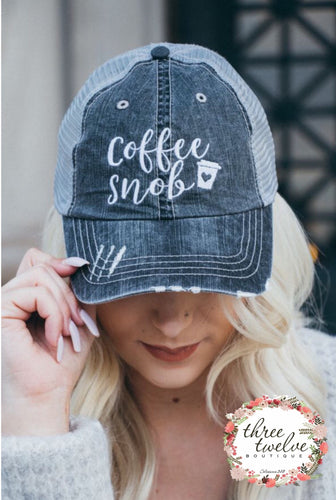 Coffee Snob Snap Back