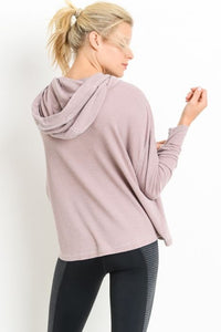 Throw & Go Cropped Hoodie
