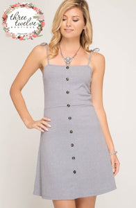 Harbor Mist Knit Cami Dress