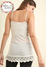 Lace Hemmed Cami