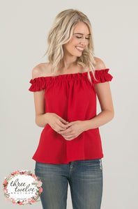 Be Mine Off The Shoulder Top