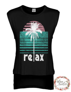 Throwback Relax Tank