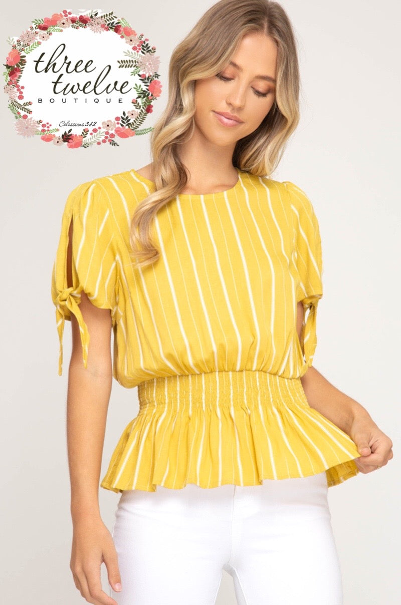 Lillian Stripe Top