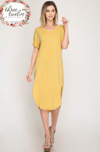 Tuscan Sun Shirt Dress