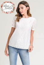 Love is in the Air Lace Top