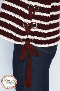 Dakota Eyelet Sweater