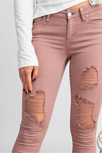 Carson Distressed Denim