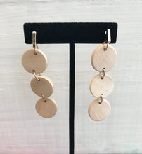 Tres Drop Earrings