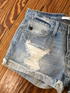 Lexington Light Wash Shorts