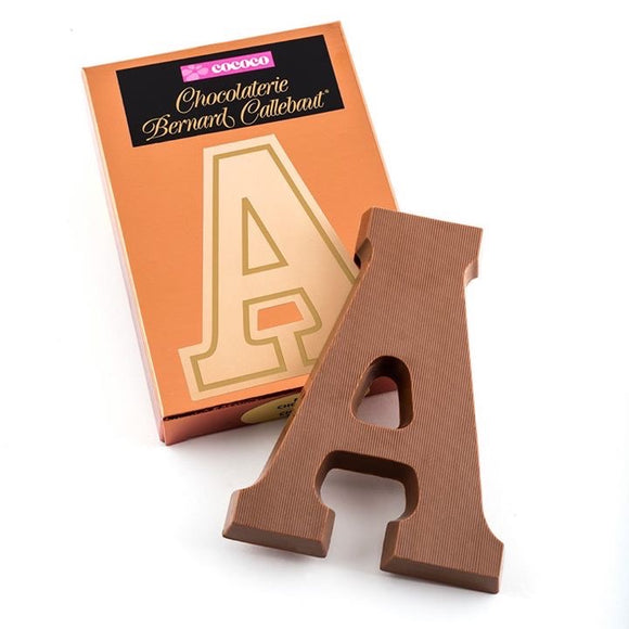 Chocolate Letters - Milk or Dark