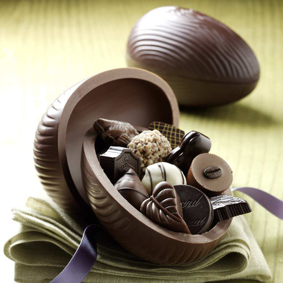 Chocolate Easter Egg filled with Assorted Chocolates - 3 sizes available