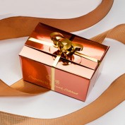 Mini Copper Gift Box - Four Assorted Chocolates