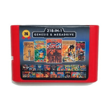 Load image into Gallery viewer, 218 in 1 for Sega Megadrive Genesis Games - ChampionCartridge