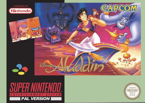 Aladdin - PAL (With Retail Box Action) - ChampionCartridge