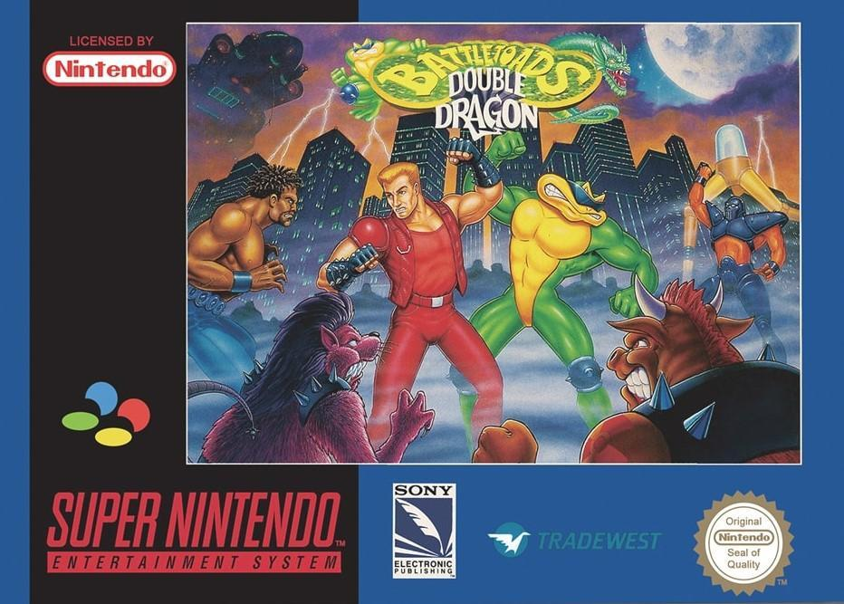 Battletoads & Double Dragon: The Ultimate Team - PAL (With Retail Box) - ChampionCartridge