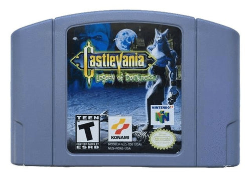 Castlevania Legacy of Darkness - NTSC - ChampionCartridge