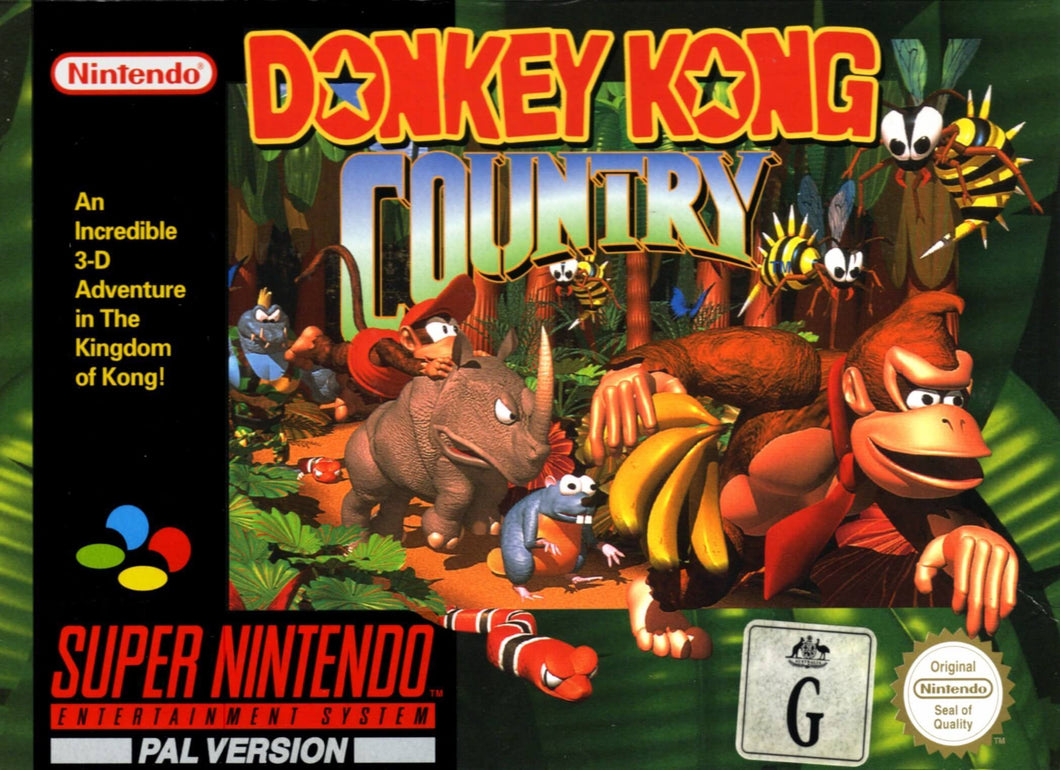 Donkey Kong Country 1/2/3 - EUR - ChampionCartridge