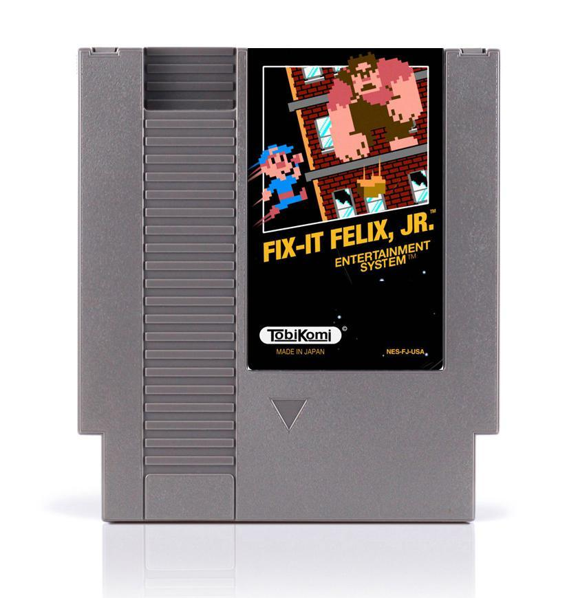 Fix-it Felix Jr NES Nintendo Game - ChampionCartridge