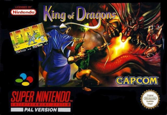 King of Dragons - PAL (With Retail Box) - ChampionCartridge