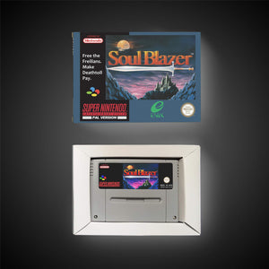 Soul Blazer - PAL (With Retail Box) - ChampionCartridge