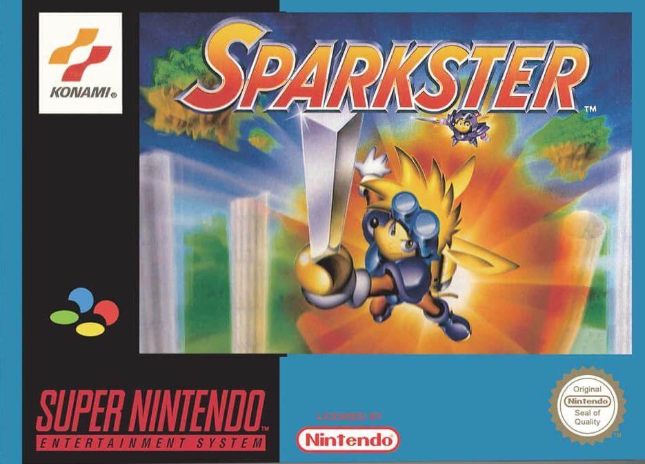 Sparkster - PAL (With Retail Box) - ChampionCartridge