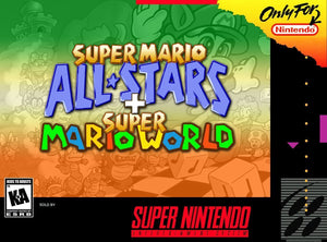 Super Mario All Stars + Super Mario World (With Retail Box) - ChampionCartridge
