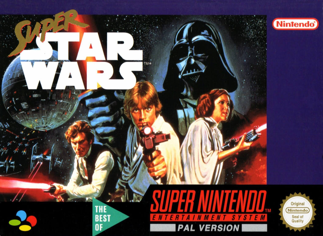 Super Star Wars - PAL (With Retail Box) - ChampionCartridge