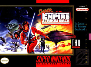 Super Star Wars - The Empire Strikes Back - EUR - ChampionCartridge