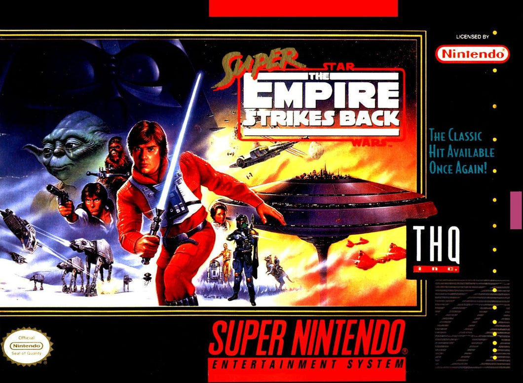 Super Star Wars - The Empire Strikes Back - US - ChampionCartridge