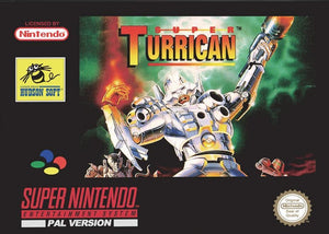 Super Turrican - PAL (With Retail Box) - ChampionCartridge