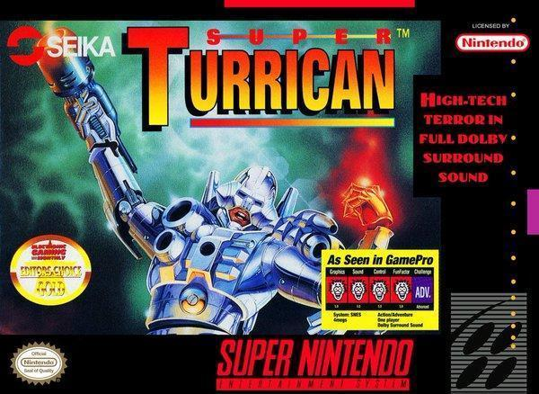 Super Turrican - US (With Retail Box) - ChampionCartridge