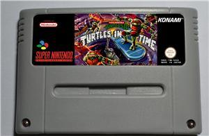 Teenage Mutant Ninja Turtles IV: Turtles in Time - EUR - ChampionCartridge