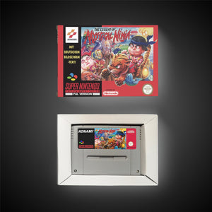 The Legend of the Mystical Ninja (With Retail Box) - ChampionCartridge
