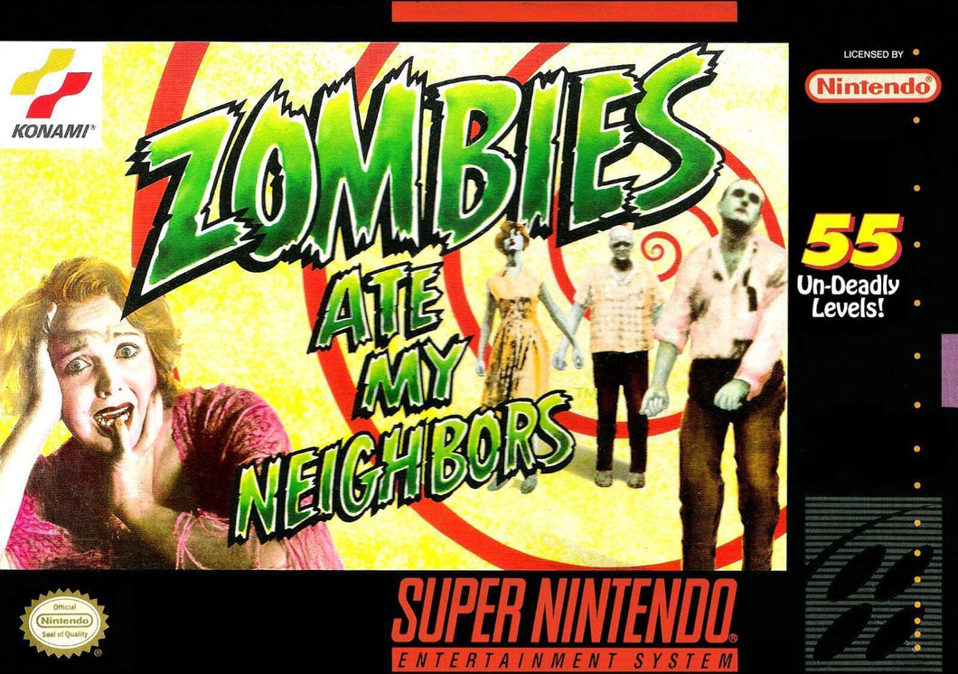 Zombies Ate My Neighbors - US (With Retail Box) - ChampionCartridge