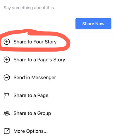 how to share facebook post picture 2