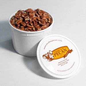 1 gallon toasted pecans | gourmet pecans | tennessee valley pecan company