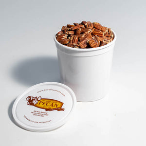 5/8 gallon toasted pecans | gourmet pecans | tennessee valley pecan company
