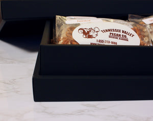 Luxury Gift Box - Pecan Assortment Close-up | Tennessee Valley Pecan Company