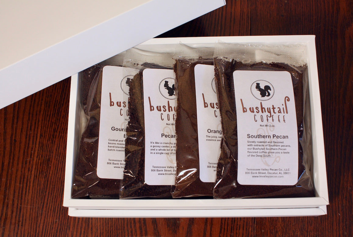 Luxury Gift Box - Coffee Assortment | Bushytail Coffee from Tennessee Valley Pecan Company