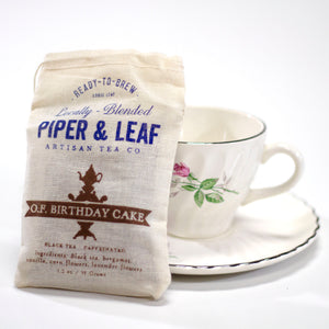 Piper & Leaf Tea Co. Old-Fashioned Birthday Cake 35g Bag