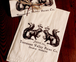 TVPC Royalty Flour Sack Tea Towel