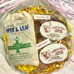 Sweet & Simple Gift Basket - Tennessee Valley Pecan Company
