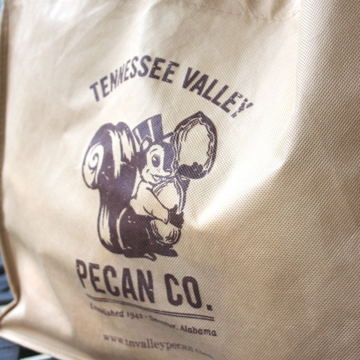 Tennessee Valley Pecan Company Reusable Shopping Bag (Front)