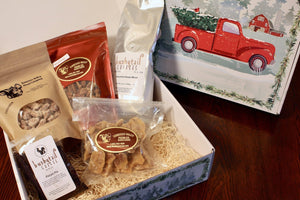 Tree Farm Holiday Truck Gift Box