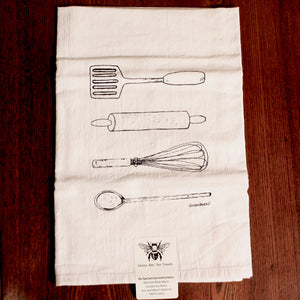 Kitchen Utensil Flour Sack Tea Towel | Tennessee Valley Pecan Company