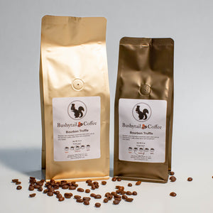 Bourbon Truffle Coffee | Bushytail Coffee | Tennessee Valley Pecan Company