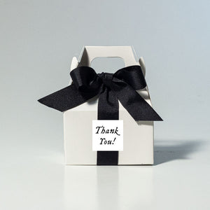 Black Tie Gourmet Pecans: Mini Gable Box