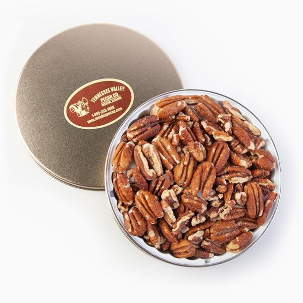 Single Variety Pecan Tin | Tennessee Valley Pecan Company